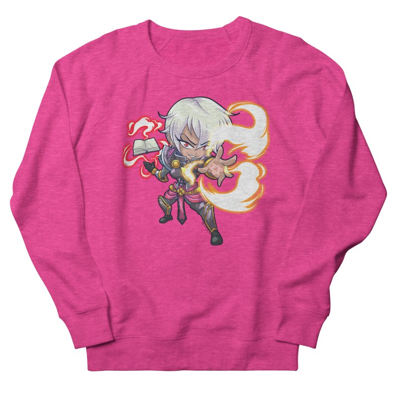 Chibi Series 1: Confessor Women's French Terry Sweatshirt by Shirts by Noc
