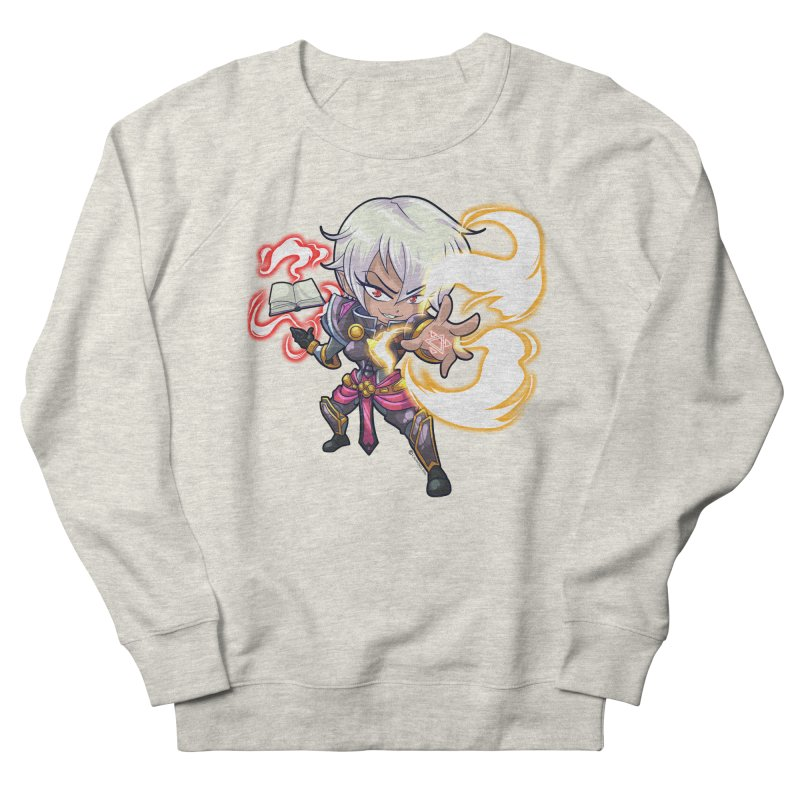 Chibi Series 1: Confessor Men's French Terry Sweatshirt by Shirts by Noc