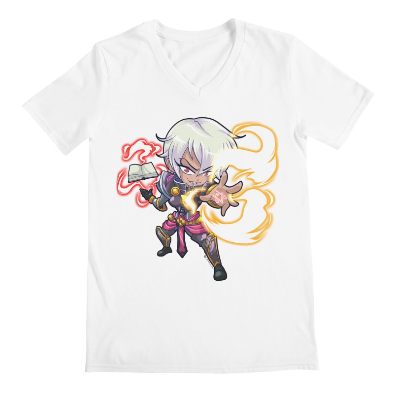 Chibi Series 1: Confessor Men's V-Neck by Shirts by Noc