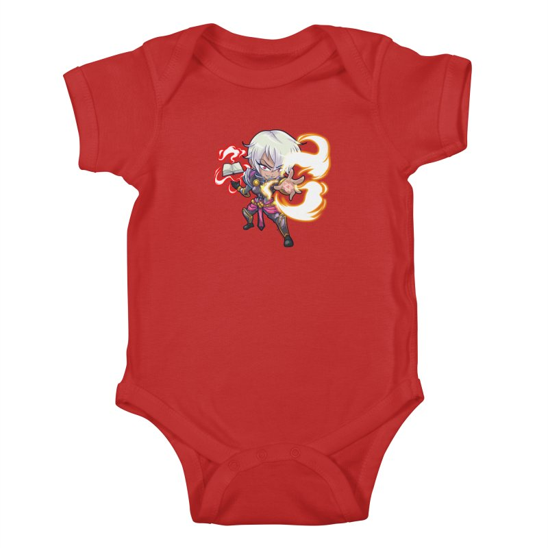 Chibi Series 1: Confessor Kids Baby Bodysuit by Shirts by Noc