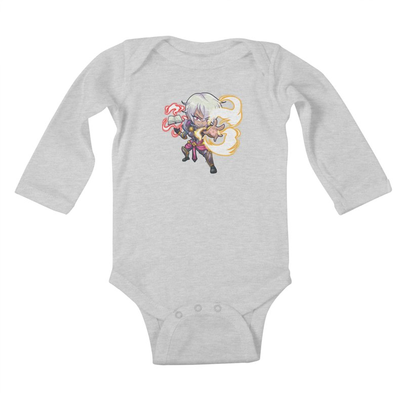 Chibi Series 1: Confessor Kids Baby Longsleeve Bodysuit by Shirts by Noc