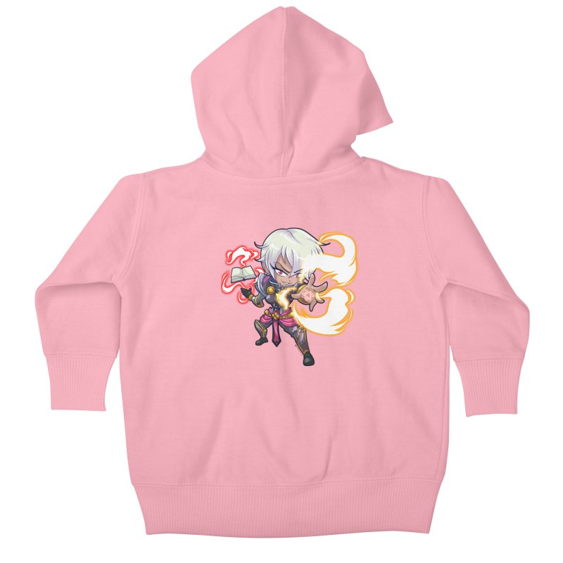 Chibi Series 1: Confessor Kids Baby Zip-Up Hoody by Shirts by Noc