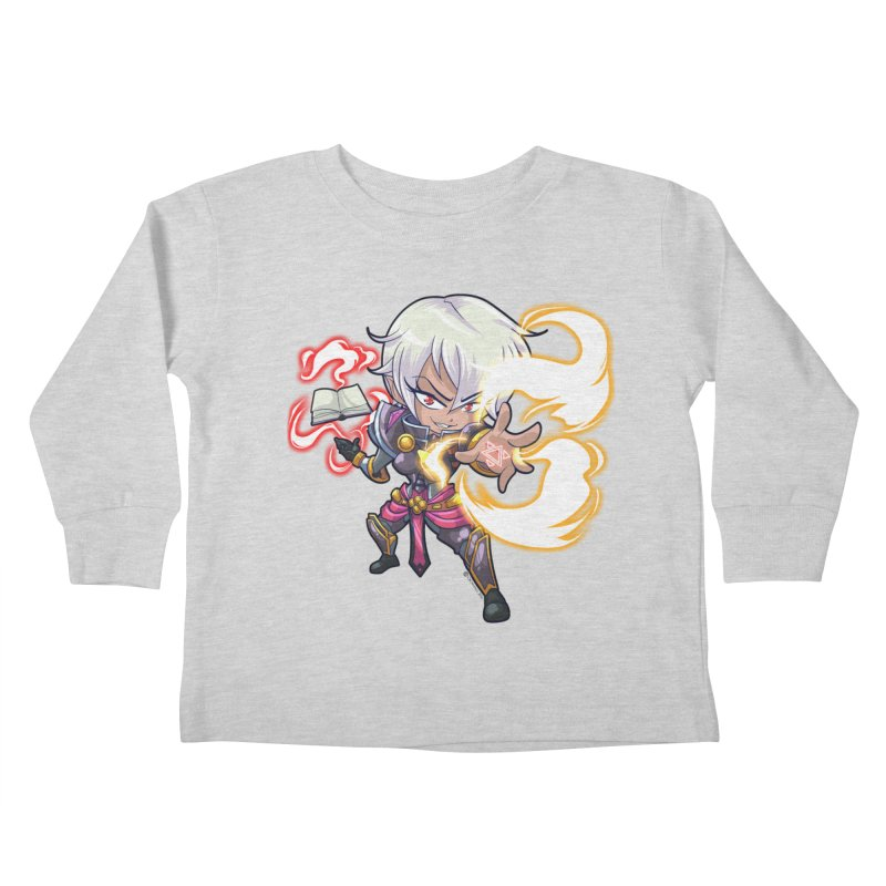 Chibi Series 1: Confessor Kids Toddler Longsleeve T-Shirt by Shirts by Noc
