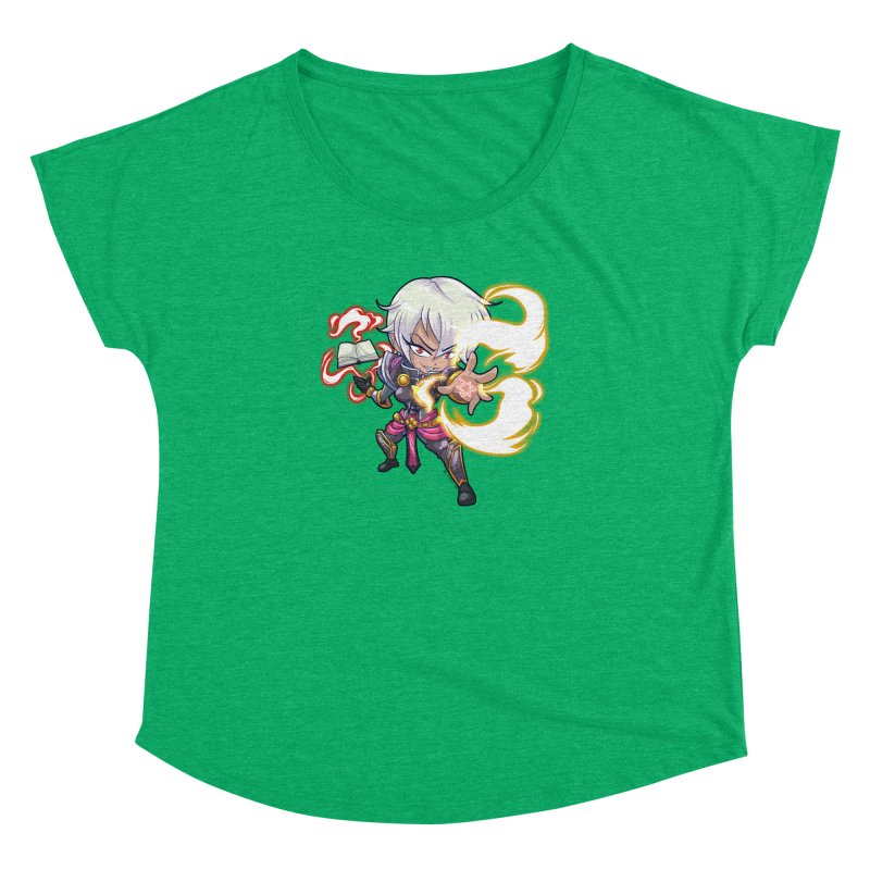 Chibi Series 1: Confessor Women's Dolman Scoop Neck by Shirts by Noc