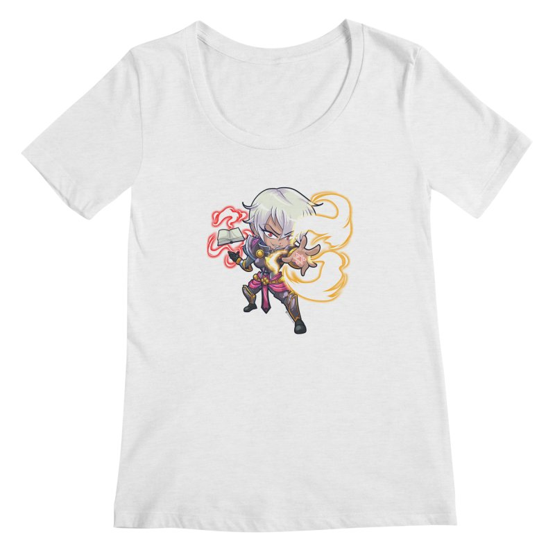 Chibi Series 1: Confessor Women's Regular Scoop Neck by Shirts by Noc