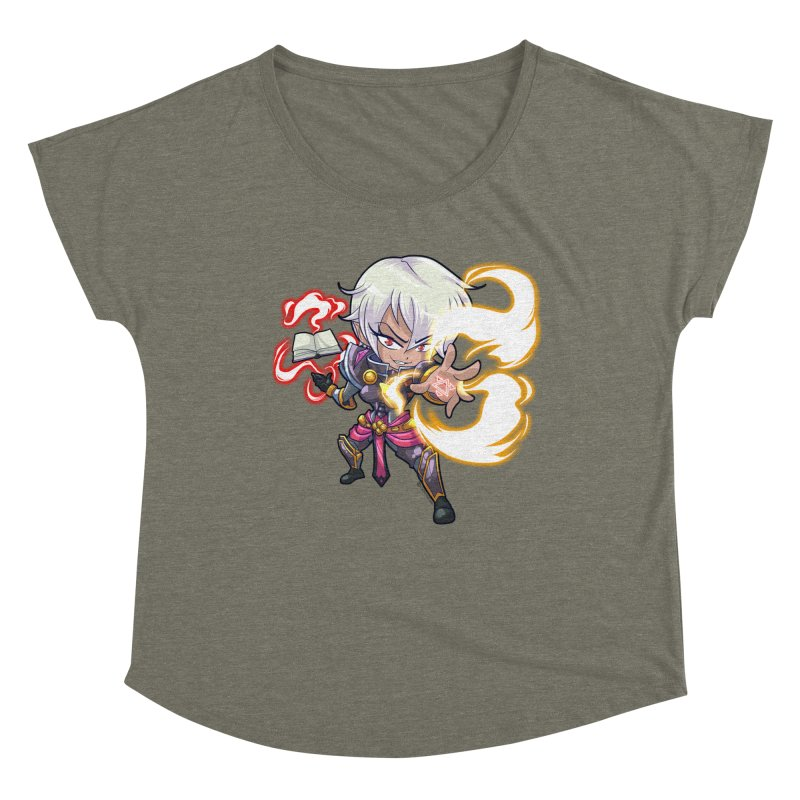 Chibi Series 1: Confessor Women's Scoop Neck by Shirts by Noc