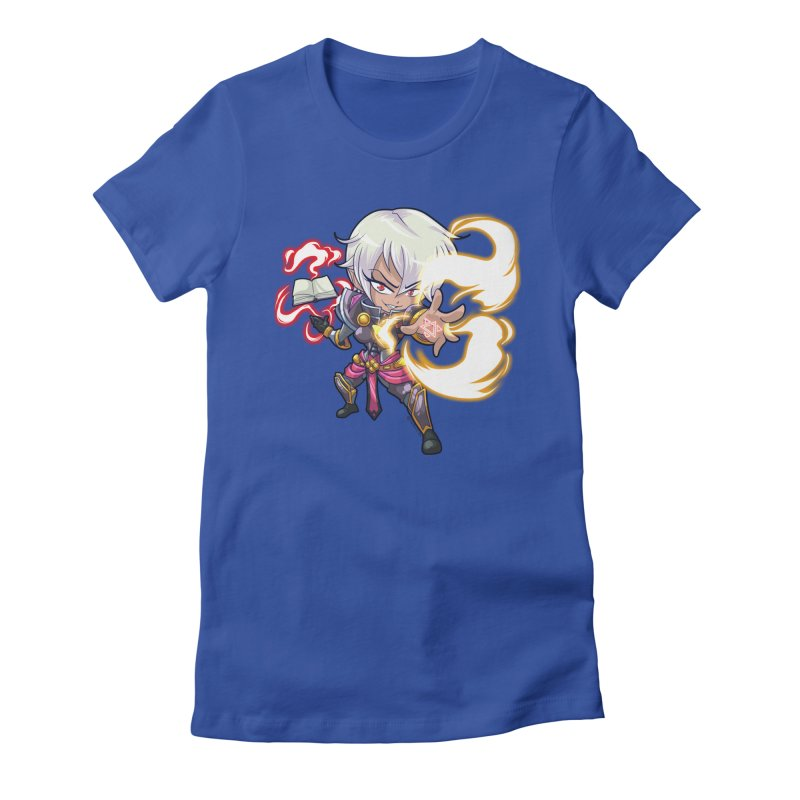 Chibi Series 1: Confessor Women's Fitted T-Shirt by Shirts by Noc