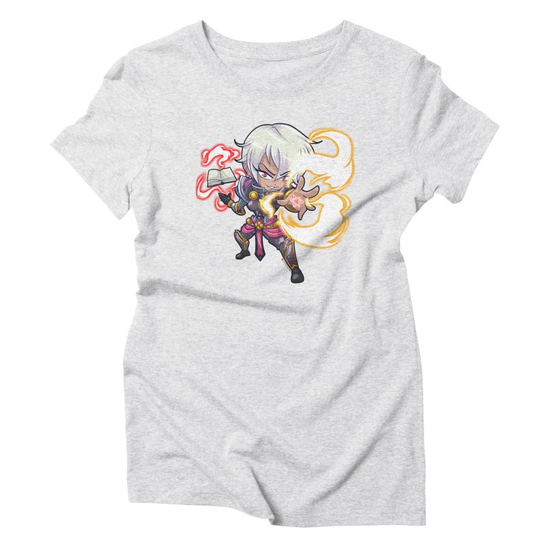 Chibi Series 1: Confessor Women's Triblend T-Shirt by Shirts by Noc