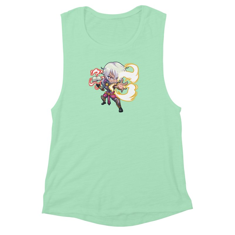 Chibi Series 1: Confessor Women's Muscle Tank by Shirts by Noc