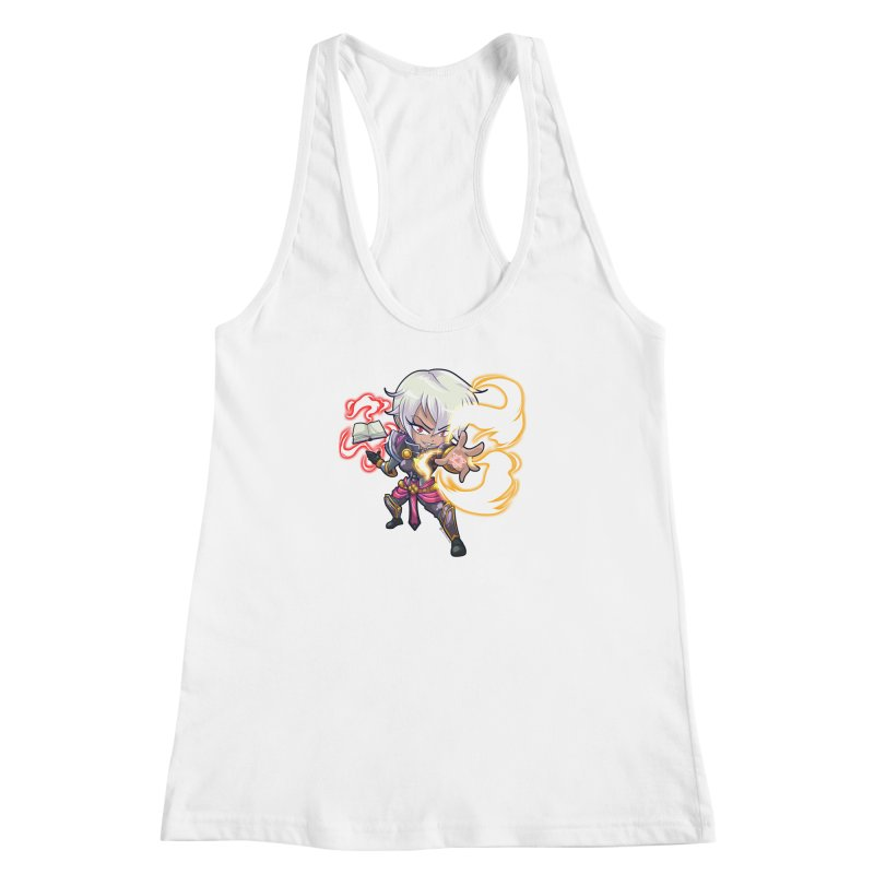 Chibi Series 1: Confessor Women's Racerback Tank by Shirts by Noc