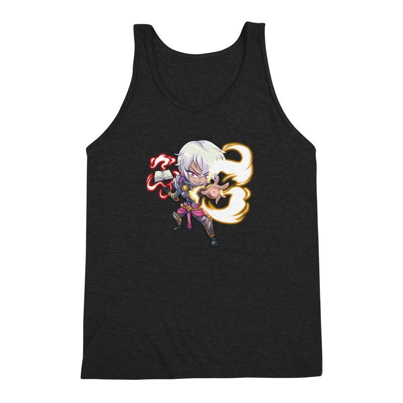 Chibi Series 1: Confessor Men's Triblend Tank by Shirts by Noc