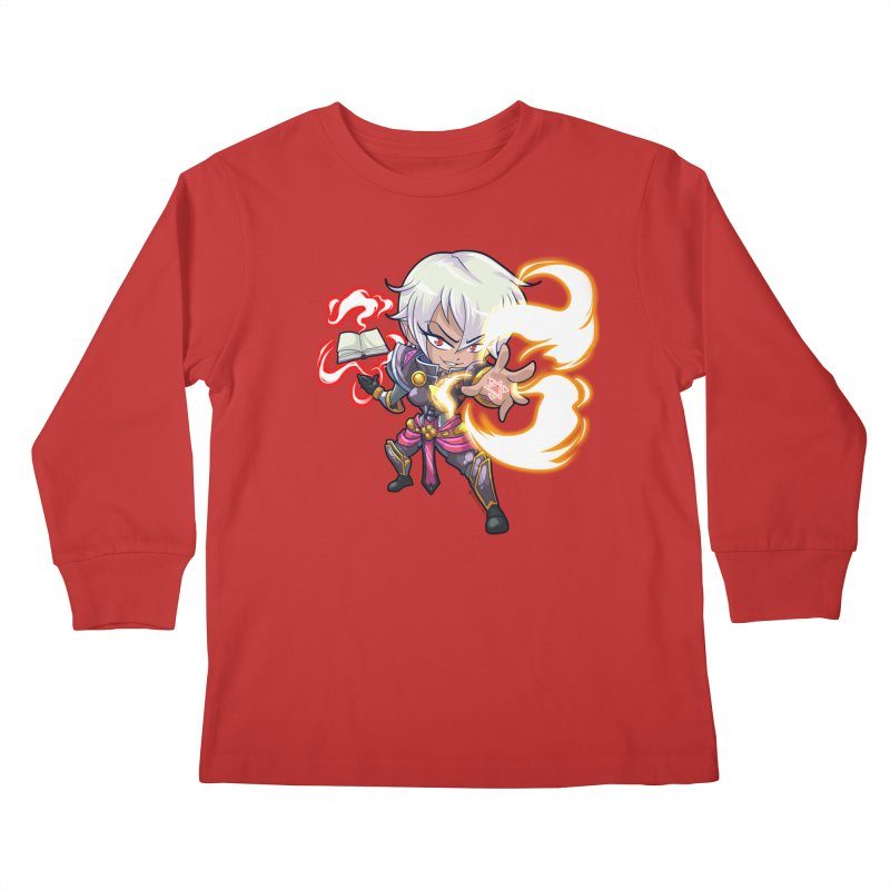 Chibi Series 1: Confessor Kids Longsleeve T-Shirt by Shirts by Noc