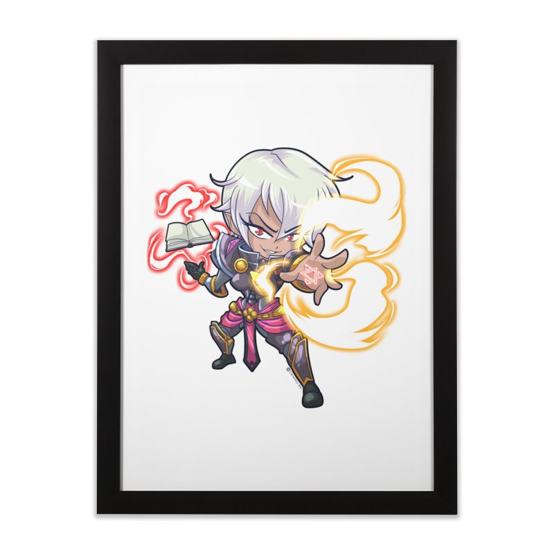 Chibi Series 1: Confessor Home Framed Fine Art Print by Shirts by Noc