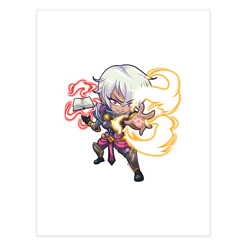 Chibi Series 1: Confessor Home Fine Art Print by Shirts by Noc