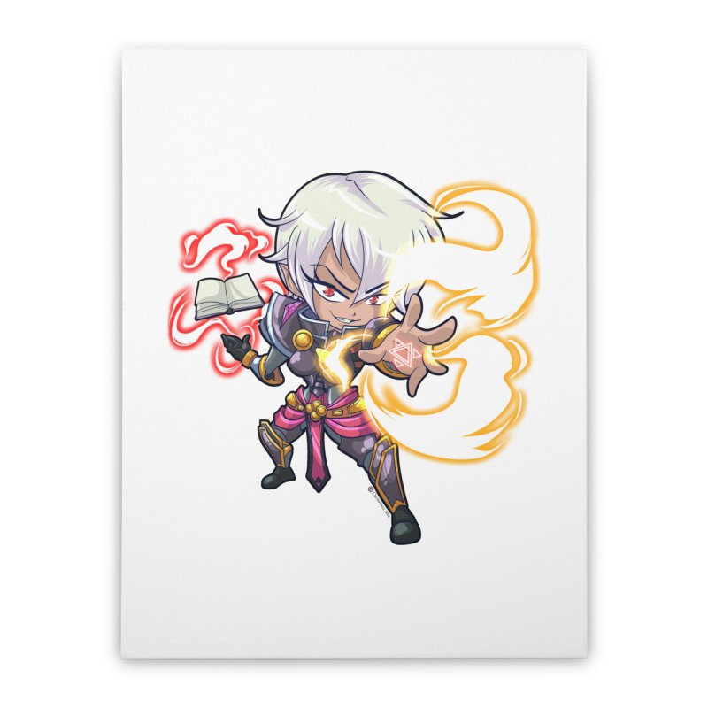 Chibi Series 1: Confessor Home Stretched Canvas by Shirts by Noc
