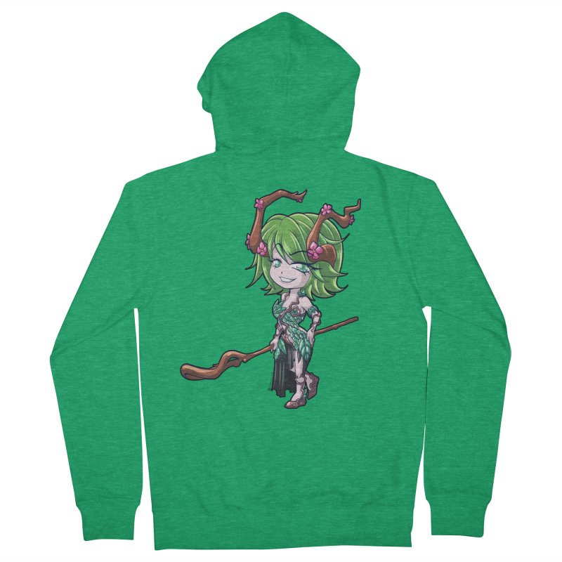 Chibi Series 1: Druid Women's Zip-Up Hoody by Shirts by Noc