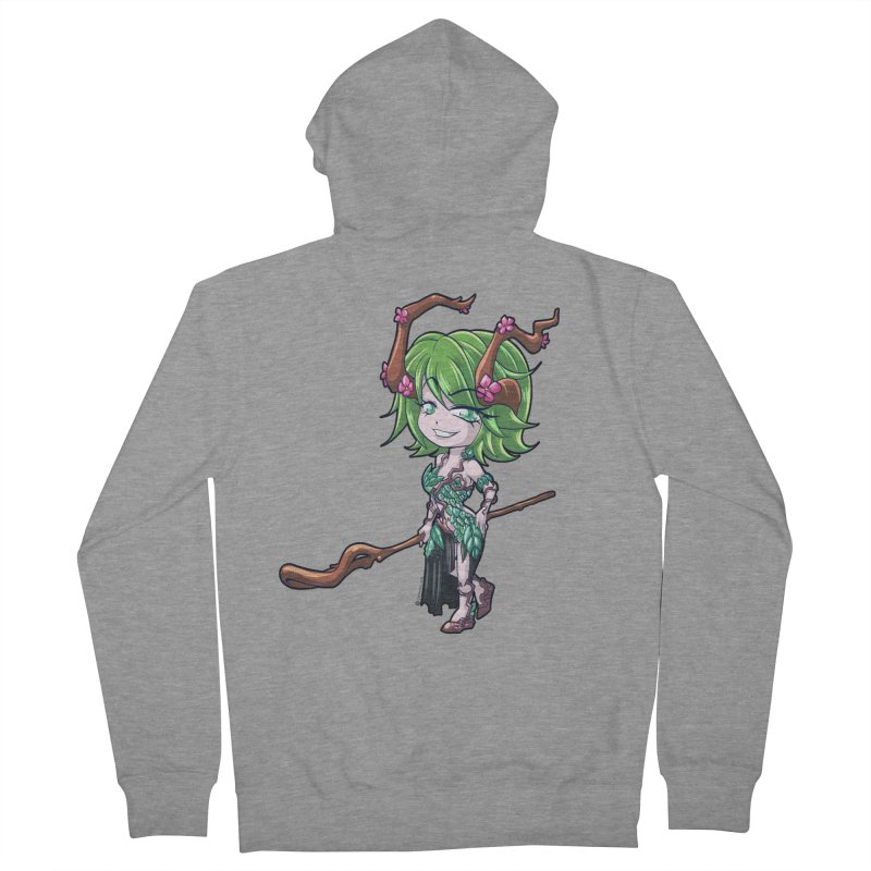 Chibi Series 1: Druid Men's Zip-Up Hoody by Shirts by Noc