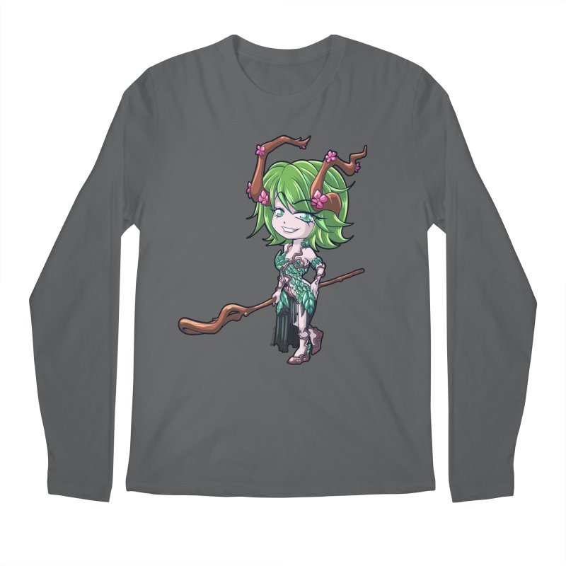 Chibi Series 1: Druid Men's Longsleeve T-Shirt by Shirts by Noc