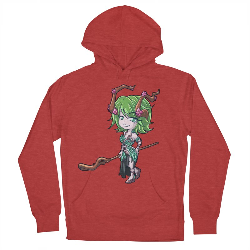 Chibi Series 1: Druid Women's French Terry Pullover Hoody by Shirts by Noc