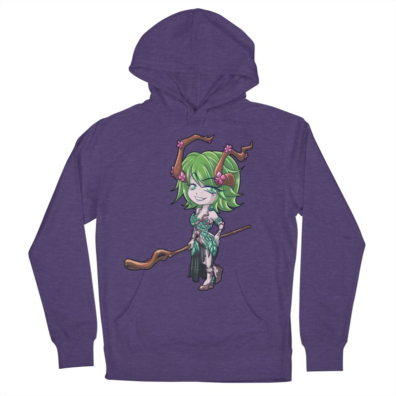 Chibi Series 1: Druid Men's French Terry Pullover Hoody by Shirts by Noc