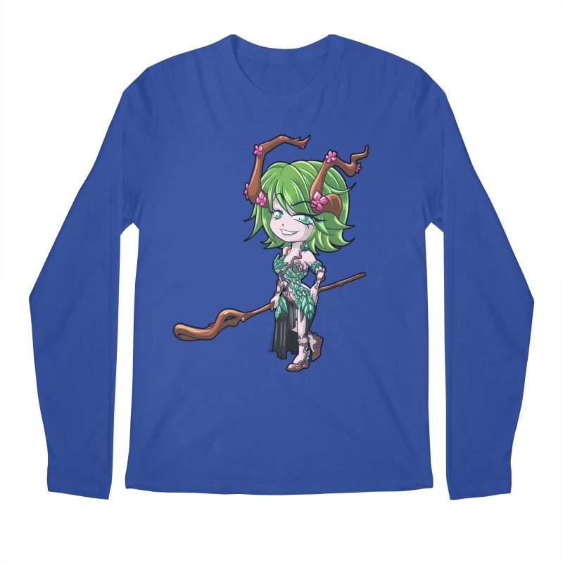 Chibi Series 1: Druid Men's Regular Longsleeve T-Shirt by Shirts by Noc