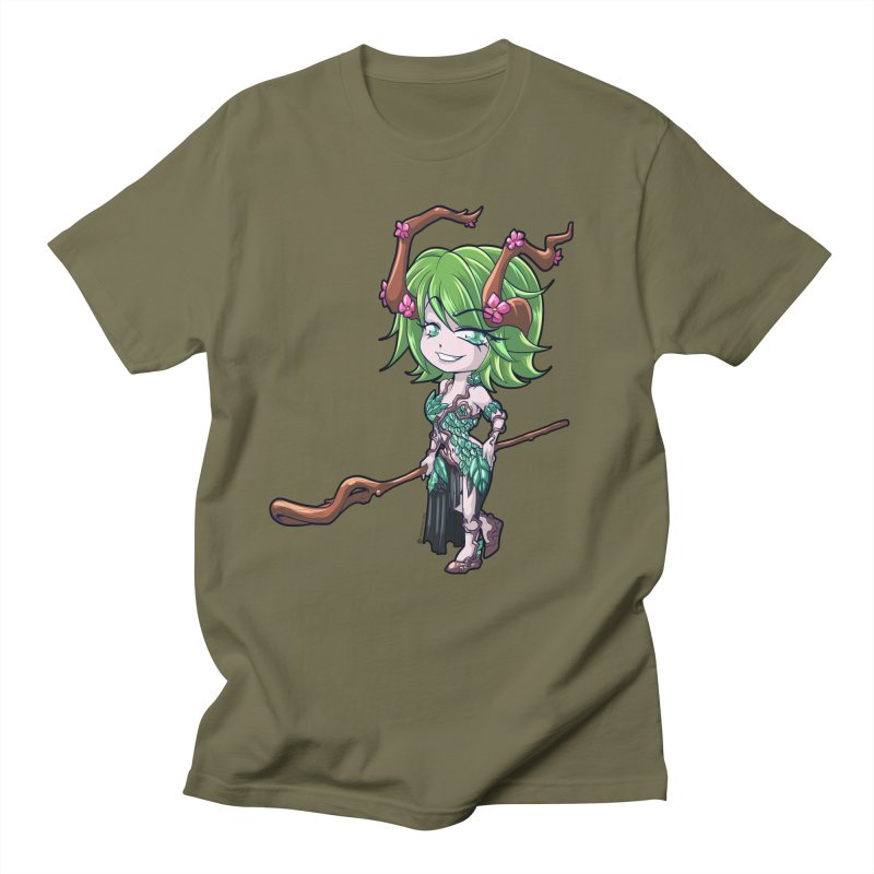 Chibi Series 1: Druid Men's T-Shirt by Shirts by Noc