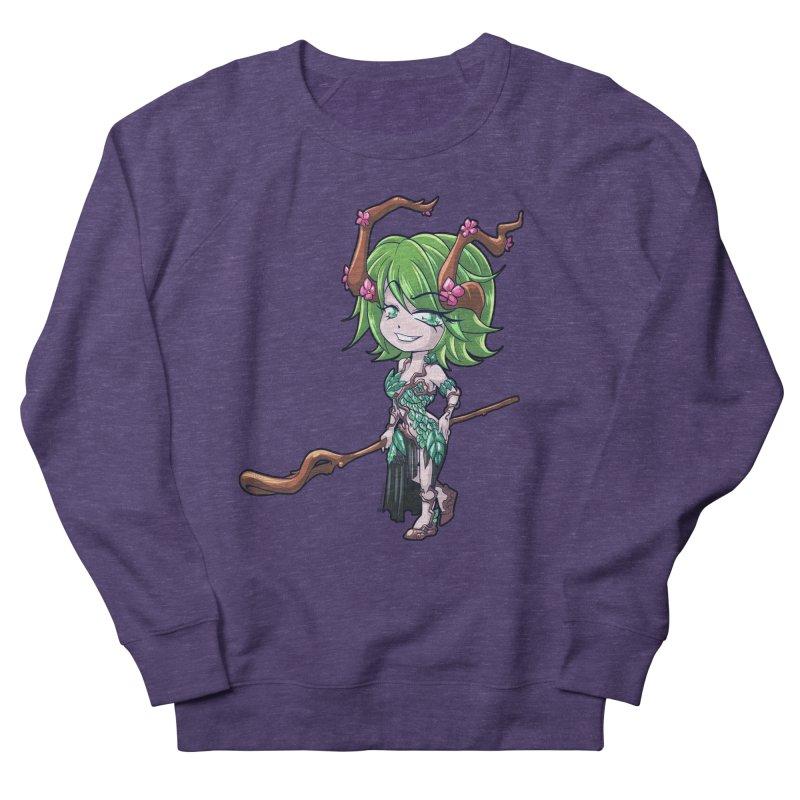 Chibi Series 1: Druid Women's French Terry Sweatshirt by Shirts by Noc