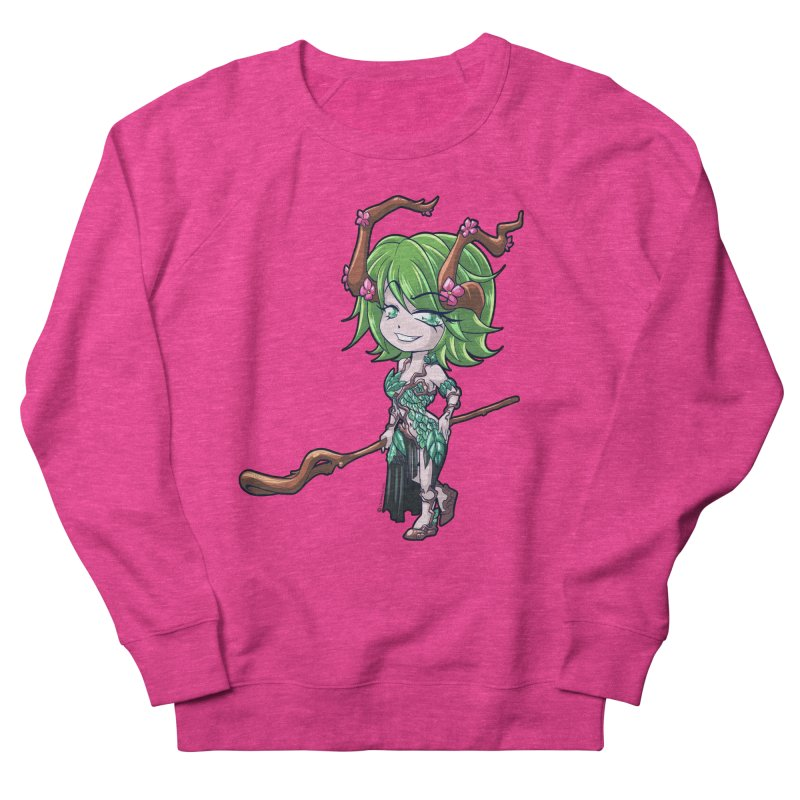 Chibi Series 1: Druid Men's French Terry Sweatshirt by Shirts by Noc