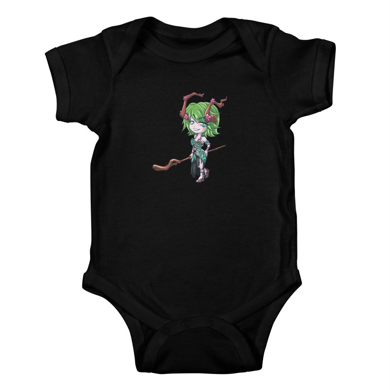 Chibi Series 1: Druid Kids Baby Bodysuit by Shirts by Noc