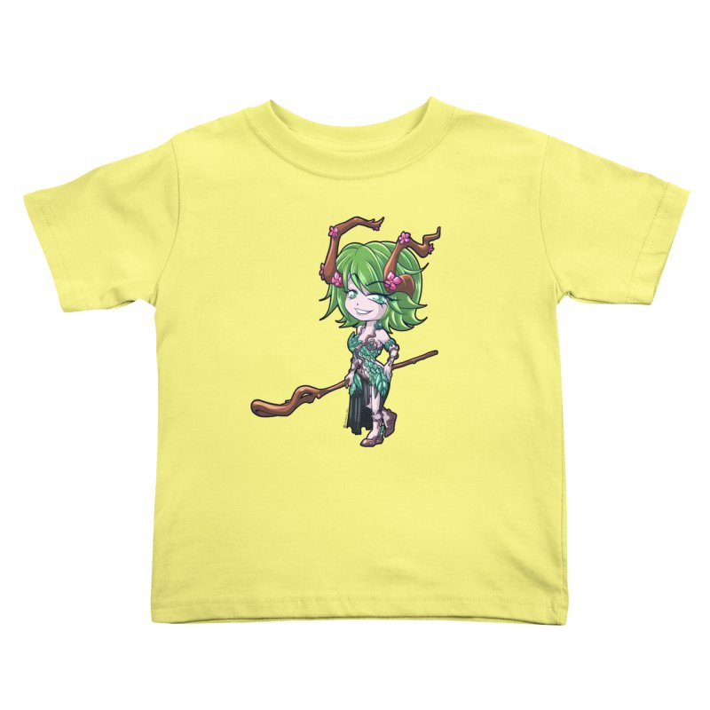 Chibi Series 1: Druid Kids Toddler T-Shirt by Shirts by Noc
