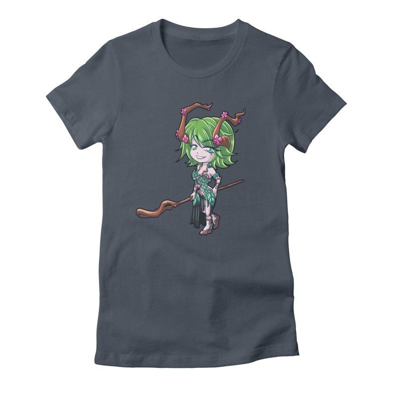 Chibi Series 1: Druid Women's T-Shirt by Shirts by Noc