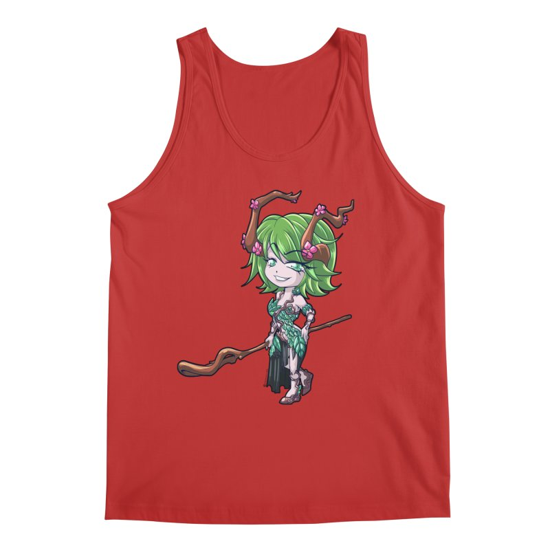 Chibi Series 1: Druid Men's Regular Tank by Shirts by Noc