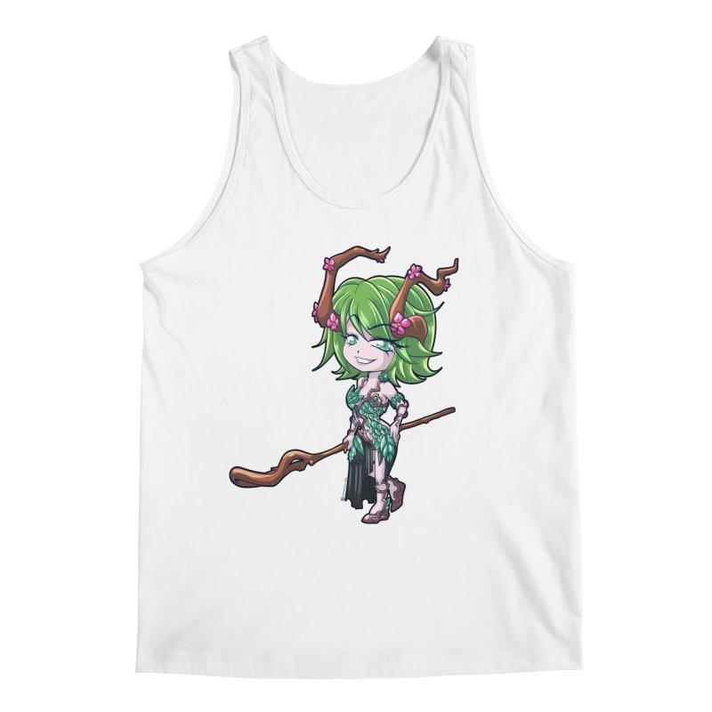 Chibi Series 1: Druid Men's Tank by Shirts by Noc