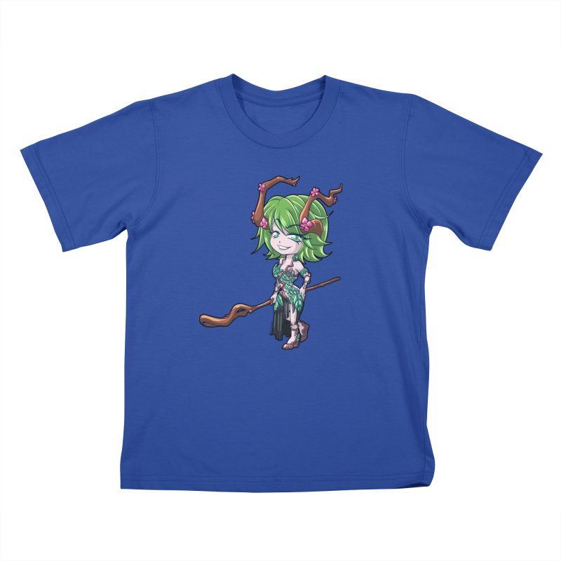 Chibi Series 1: Druid Kids T-Shirt by Shirts by Noc