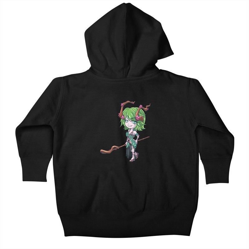Chibi Series 1: Druid Kids Baby Zip-Up Hoody by Shirts by Noc