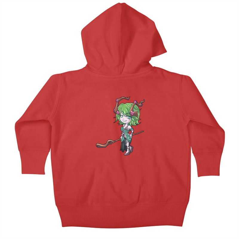 Chibi Series 1: Druid Kids Baby Zip-Up Hoody by Shirts by Noc