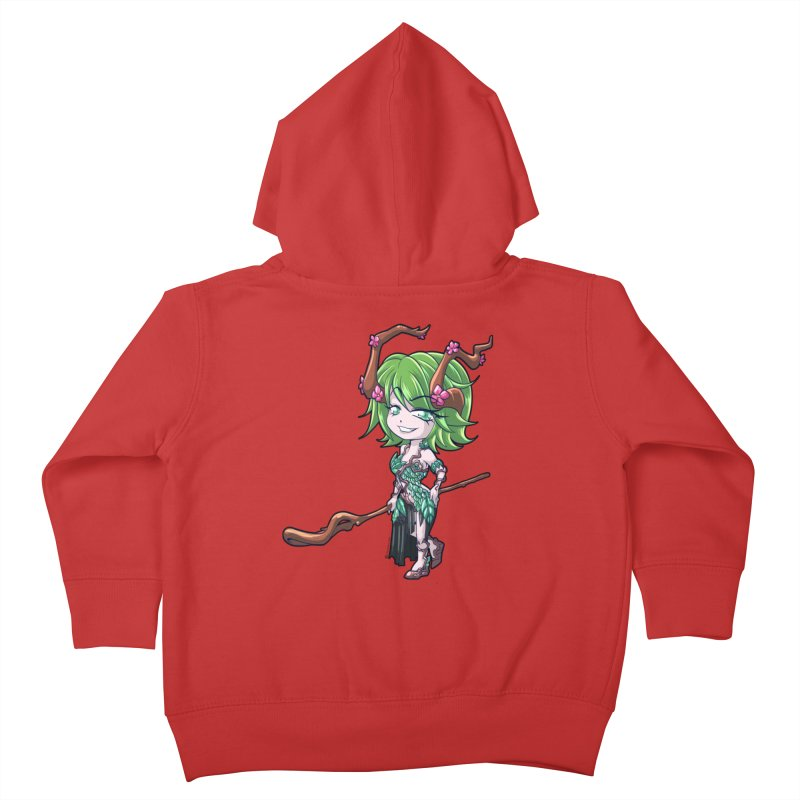 Chibi Series 1: Druid Kids Toddler Zip-Up Hoody by Shirts by Noc