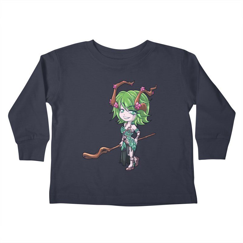 Chibi Series 1: Druid Kids Toddler Longsleeve T-Shirt by Shirts by Noc