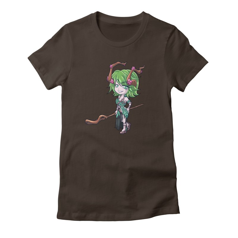 Chibi Series 1: Druid Women's T-Shirt by Shirts by Noc