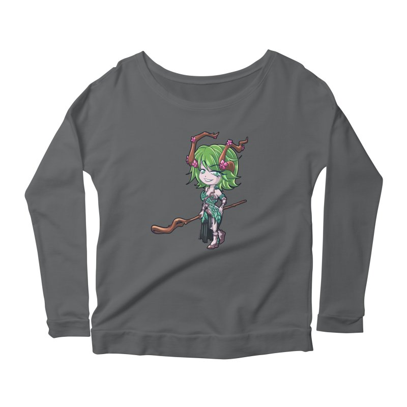 Chibi Series 1: Druid Women's Longsleeve T-Shirt by Shirts by Noc