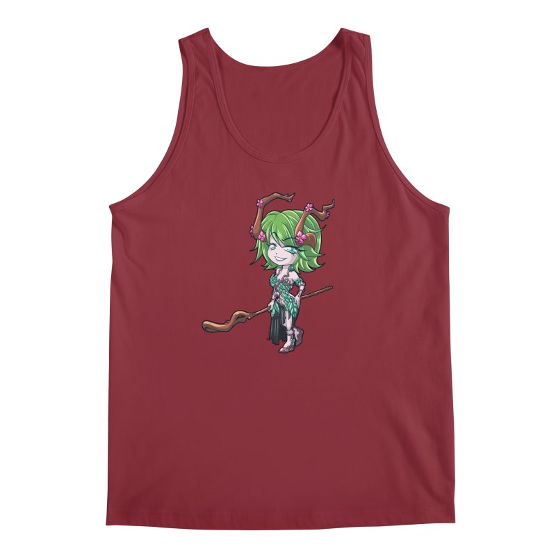 Chibi Series 1: Druid Men's Tank by Shirts by Noc