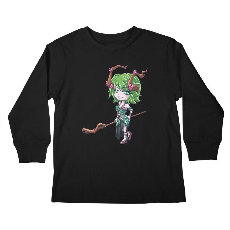 Chibi Series 1: Druid Kids Longsleeve T-Shirt by Shirts by Noc