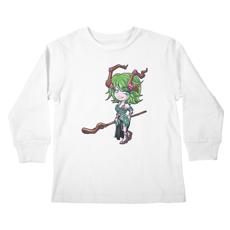 Chibi Series 1: Druid Kids Longsleeve T-Shirt by Shirts by Noc
