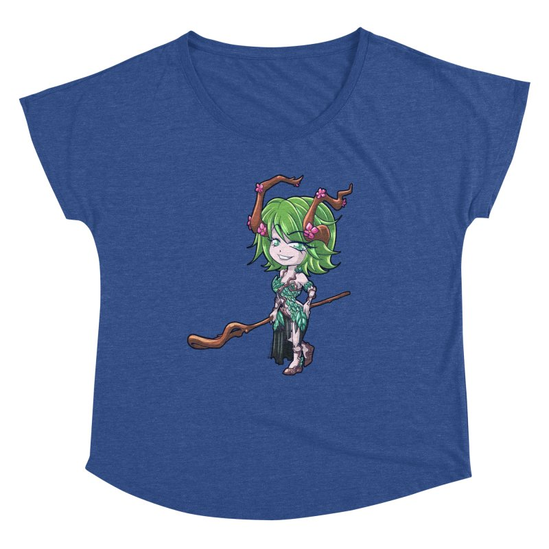 Chibi Series 1: Druid Women's Scoop Neck by Shirts by Noc