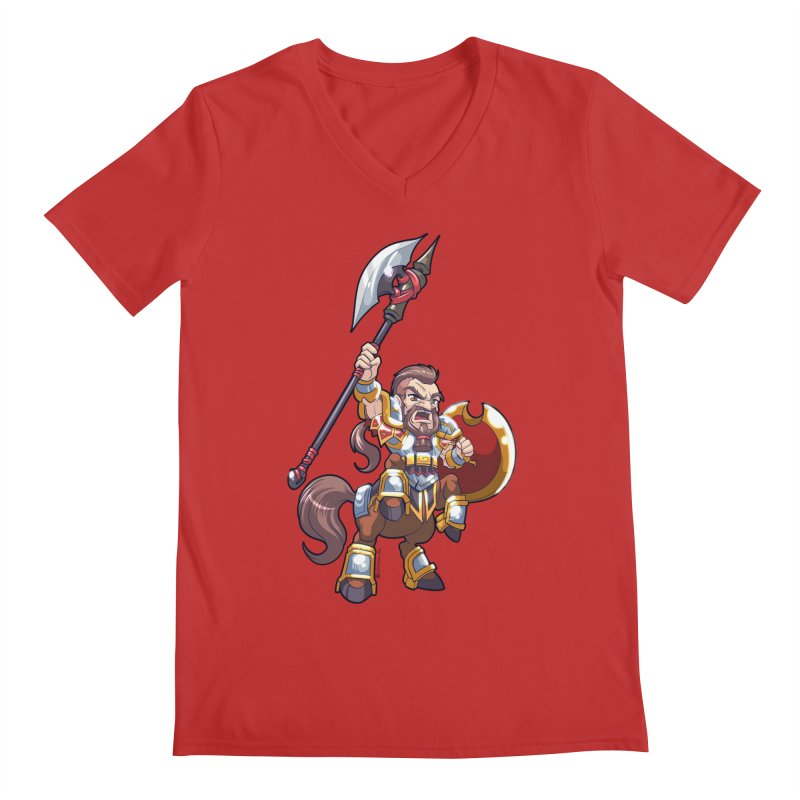 Chibi Series 1: Legionnaire Men's V-Neck by Shirts by Noc