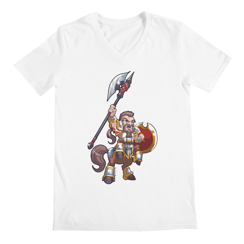 Chibi Series 1: Legionnaire Men's V-Neck by Shirts by Noc