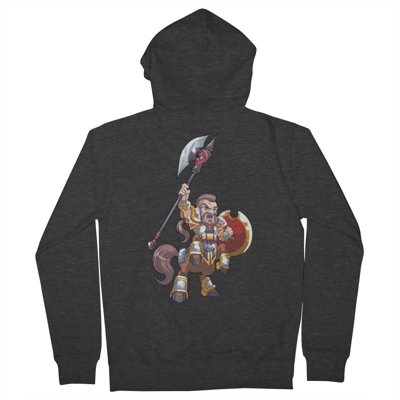 Chibi Series 1: Legionnaire Women's French Terry Zip-Up Hoody by Shirts by Noc