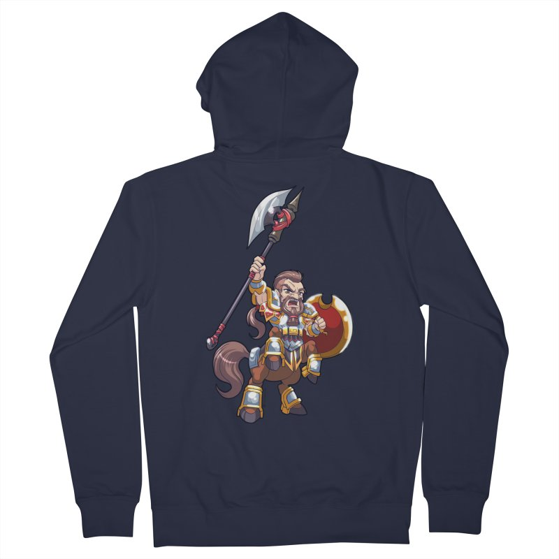 Chibi Series 1: Legionnaire Men's French Terry Zip-Up Hoody by Shirts by Noc