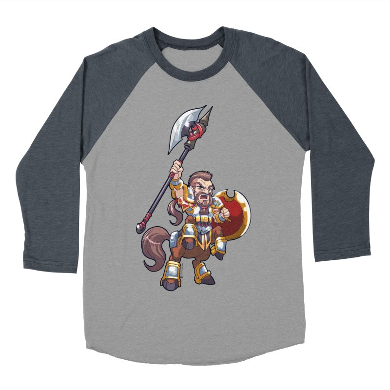 Chibi Series 1: Legionnaire Women's Baseball Triblend Longsleeve T-Shirt by Shirts by Noc