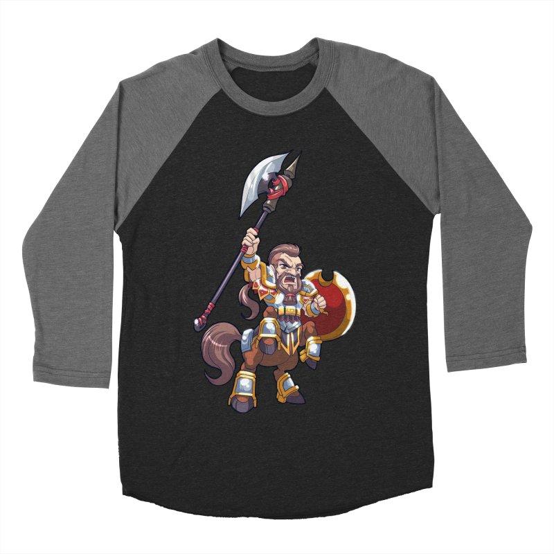 Chibi Series 1: Legionnaire Men's Baseball Triblend Longsleeve T-Shirt by Shirts by Noc